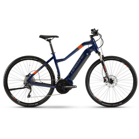 HAIBIKE SDURO Cross 5.0 Dame blue/orange/titan